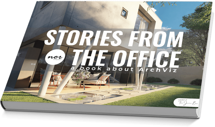 Stories from the office - a book about ArchViz